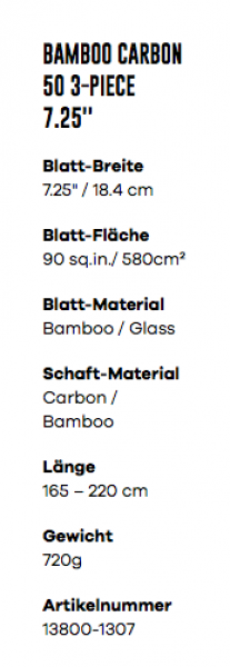 Fanatic Bamboo 50 Carbon 3-Piece